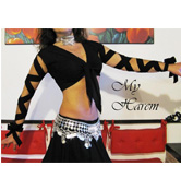 top choli nero MC