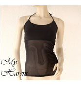 top lycra nero NET